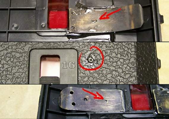 add film spool tensioners