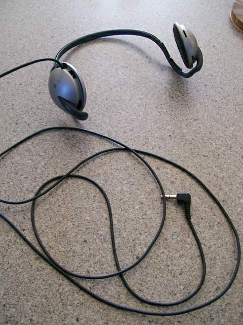 comfortable and rugged old headphones