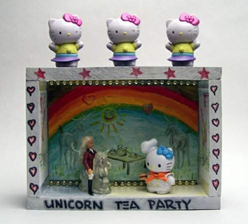 Unicorn Tea Party - front view