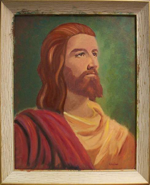 Jesus Thrift Shop re-Painting
