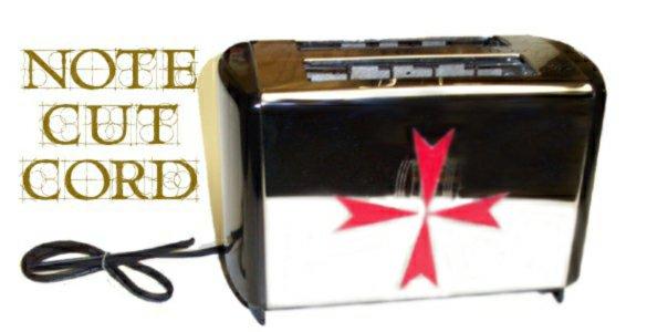 Knights Templar toaster