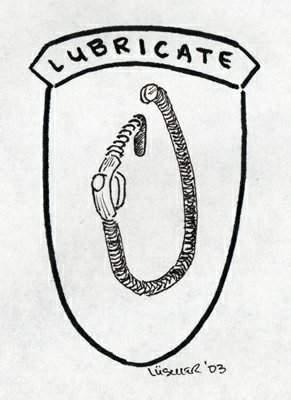 Lubrication Unit Patch