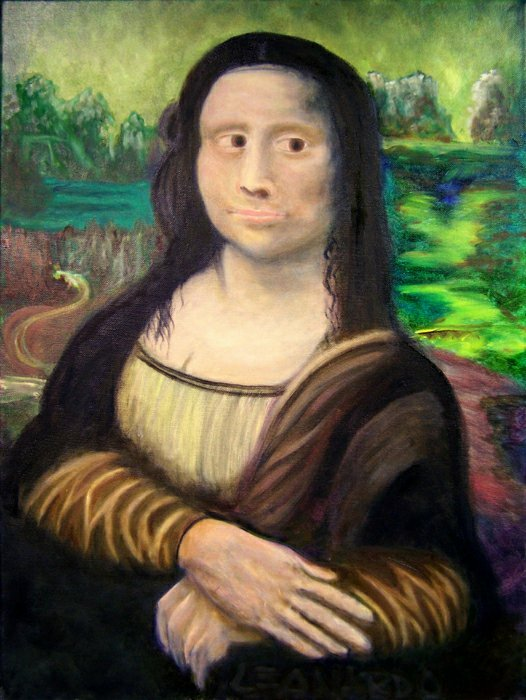 "a portrait of mona lisa A long-lost 'national icon' painting of a nigerian princess is up for auction in the uk after its surprise discovery in a north london apartment ""tutu,"" a portrait of princess adetutu ademiluyi, was painted in 1974 by the nigerian artist ben enwonwu and media reports have compared it to."