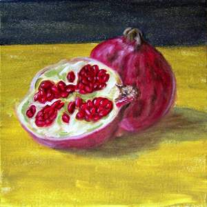 pomegranate, food of the gods