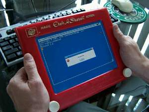2006.10.13 - Etch-A-Sketch crash