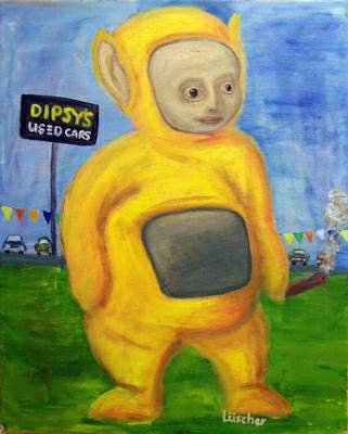 Teletubby Dipsy's Used Cars