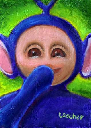 Tinky Winky Portrait