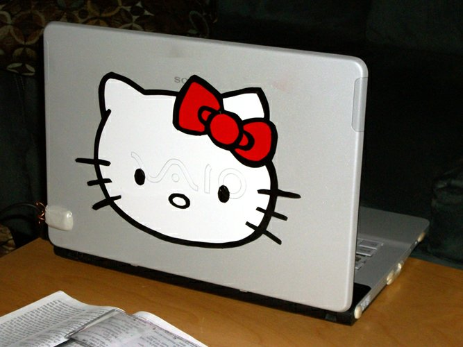Hello Kitty Laptop number 2, SONY