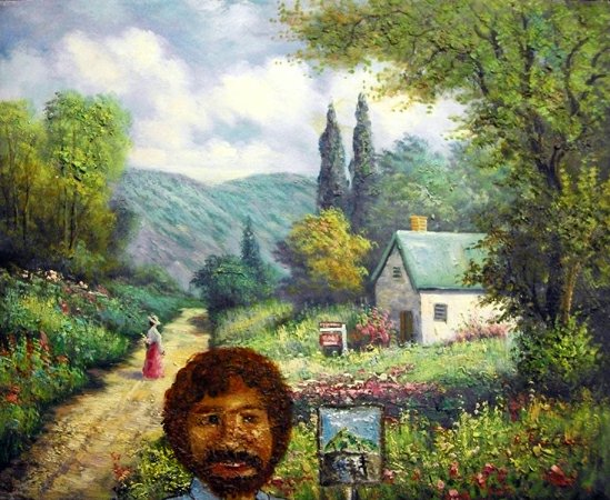 Bob Ross Nightmare
