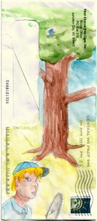 First Choice Tree Care envelope