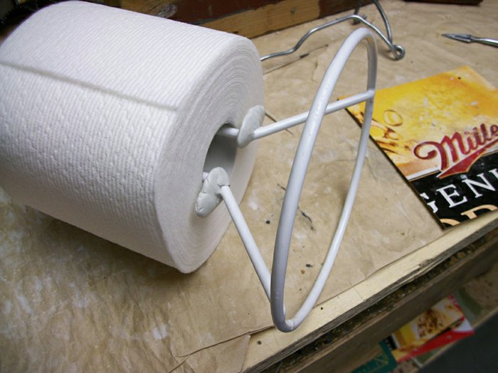 the finished TP Roll holder
